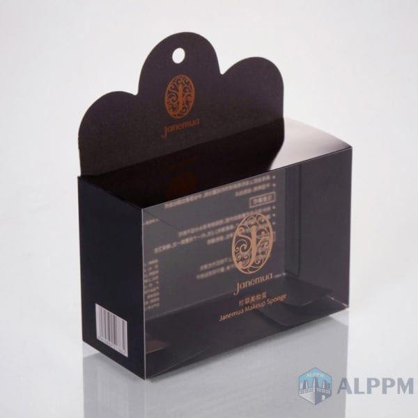 #1 transparent Box for Cosmetic Product (PVC + PET)