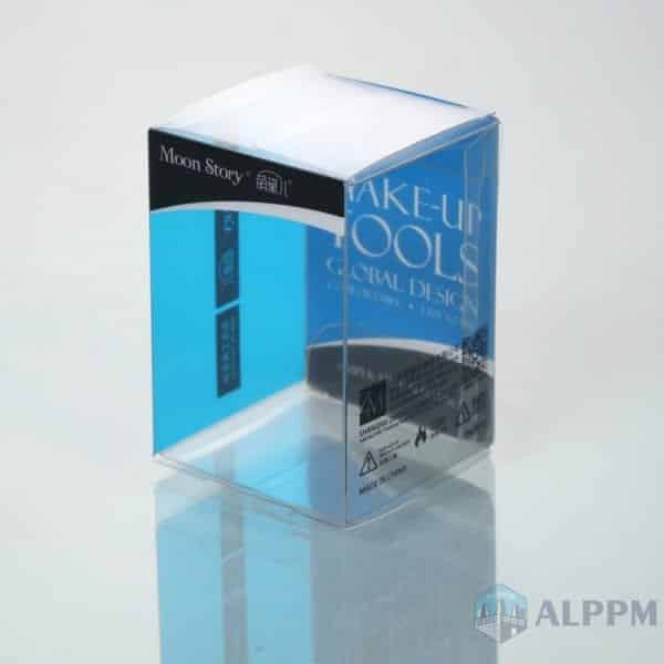 Clear Packing Box for Cosmetic Packaging (PVC clear plastic price: $0.05)